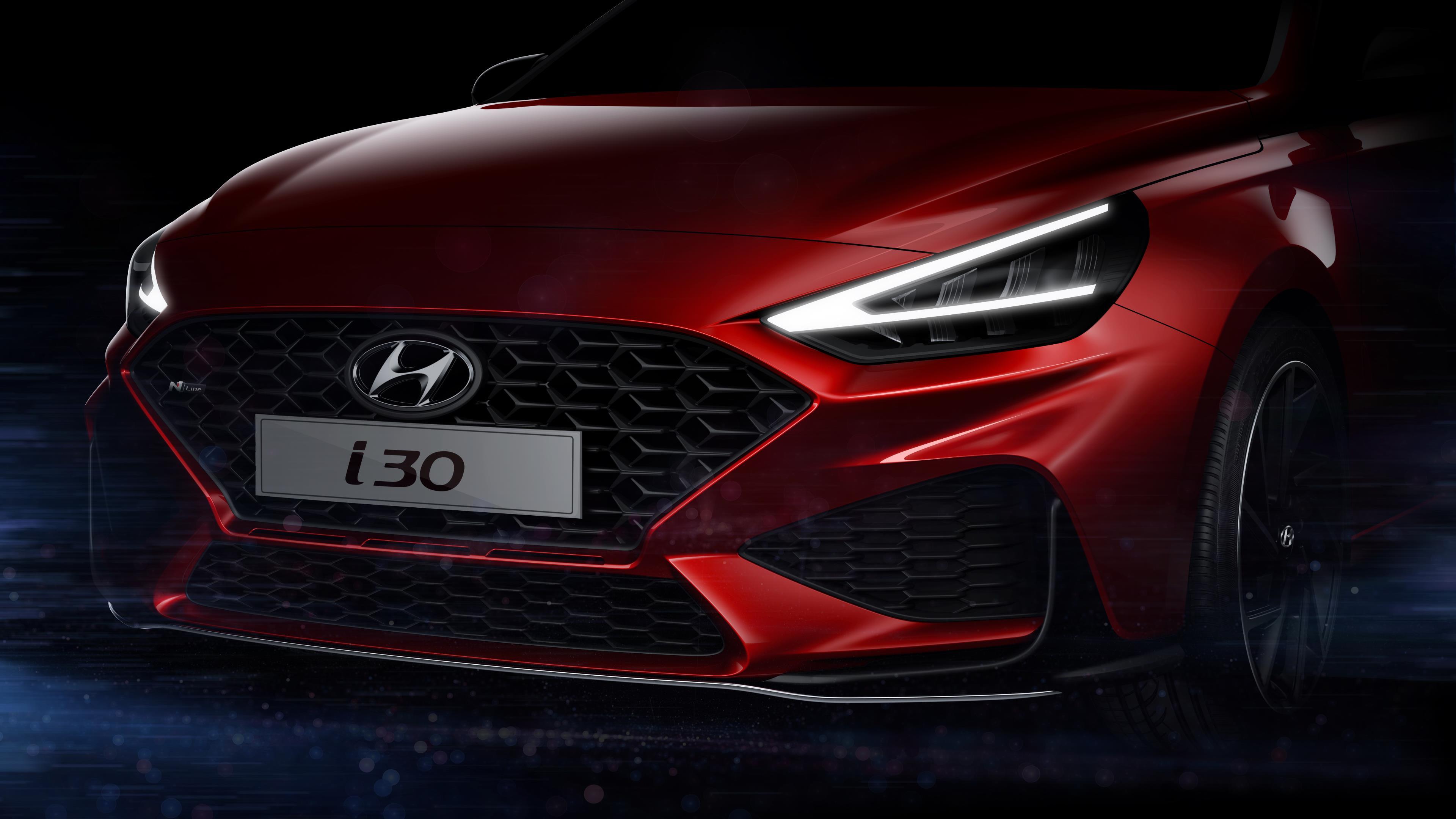 Hyundai I30 2021 Teaser 1