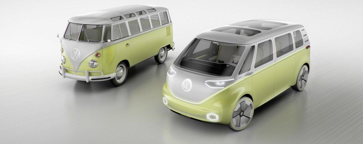 Volkswagen Kombi E Volkswagen Id. Buzz