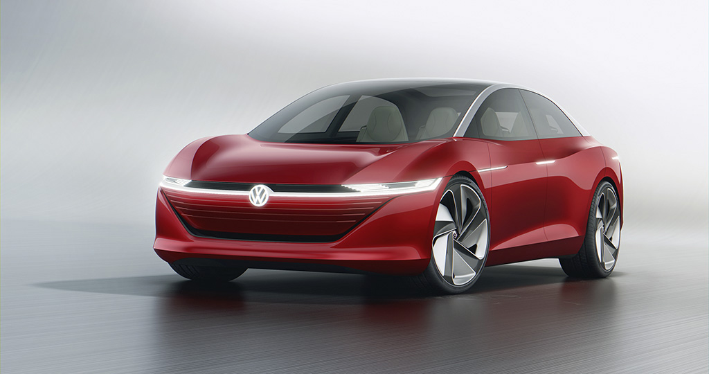 Volkswagen I.D. Vizzion mostra como seria um Passat elétrico