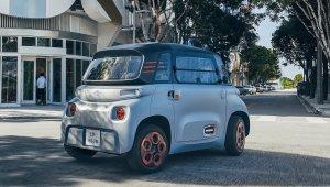 Citroën elétrico Ami: de frente ou de costas: desenho é muito parecido dos dois lados