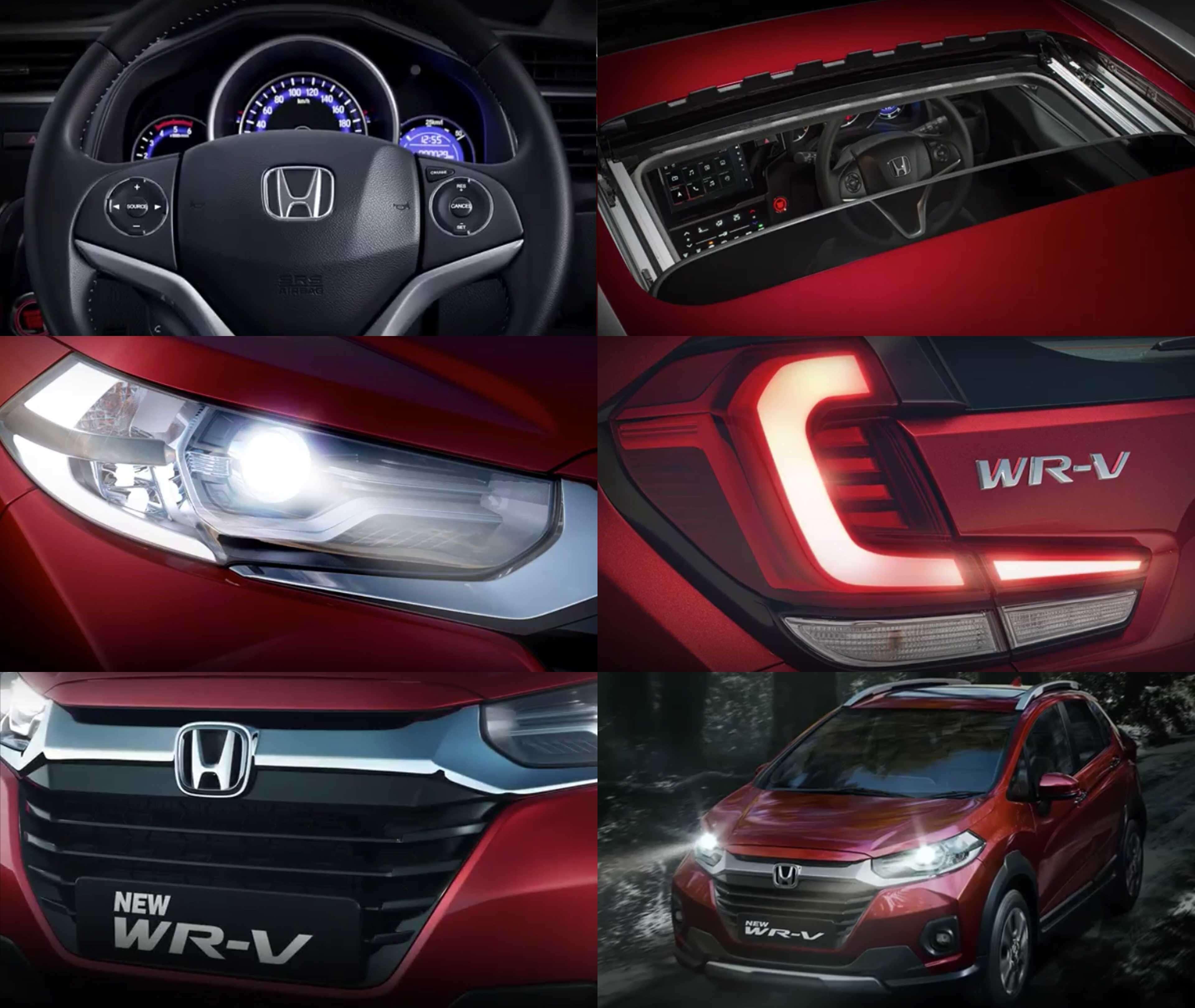Detalhes do novo WR-V