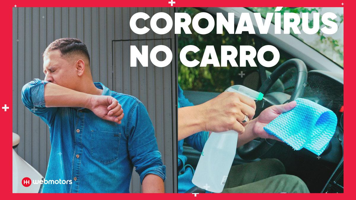 Reveja nosso vídeo de como higienizar o carro para combater o coronavírus
