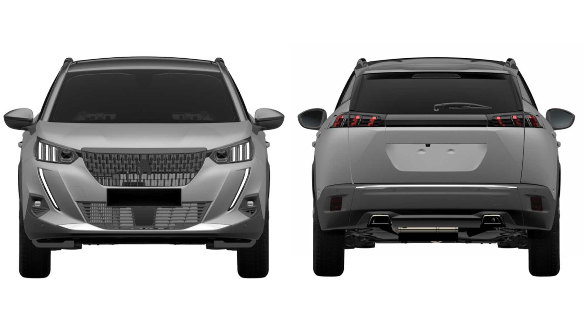 Peugeot 2008 tem traseira inspirada na do utilitário esportivo médio 3008
