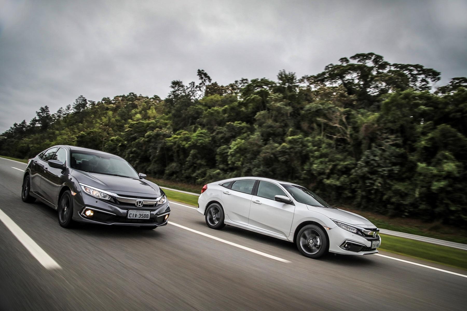 Civic: óleo genuíno Pro Honda auxilia no bom funcionamento do motor do sedã médio