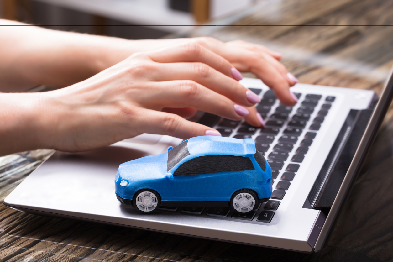 Compra de carro pela internet