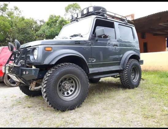 Suzuki Samurai 1.3 Jx Metal Top 4x4 16v Gasolina 2p Manual Wmimagem14345154887