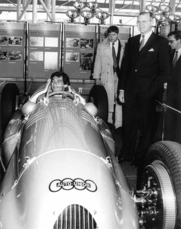 Audi e Ayrton Senna