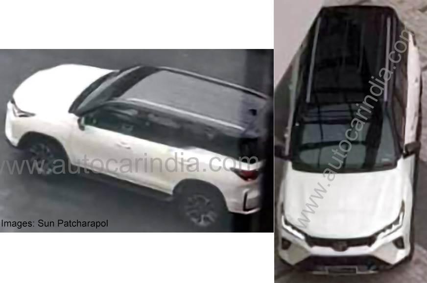 Flagra Do Toyota Sw4