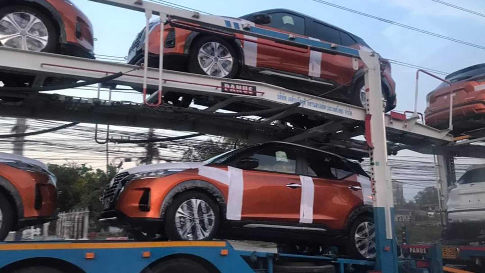 Nissan Kicks 2021 Flagra Sem Camuflagem