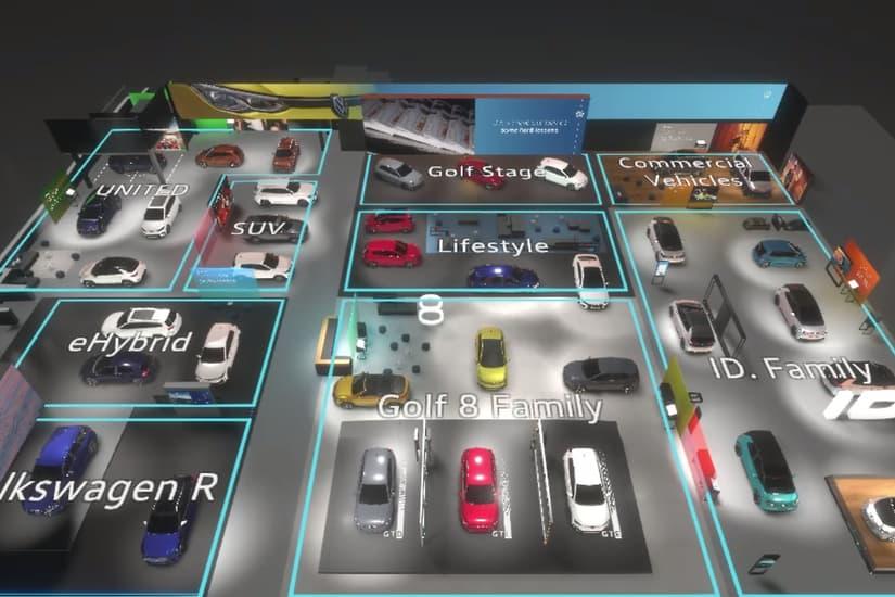 Volkswagen criou um Salão do Automóvel digital. Acesso é gratuito