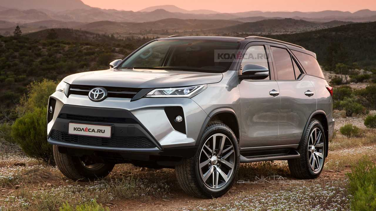 Novo Toyota SW4