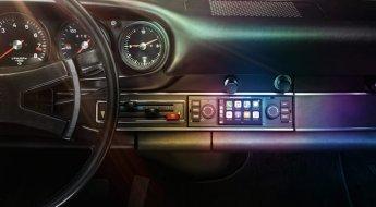 Carros clássicos da Porsche já podem ter centrais multimídias originais