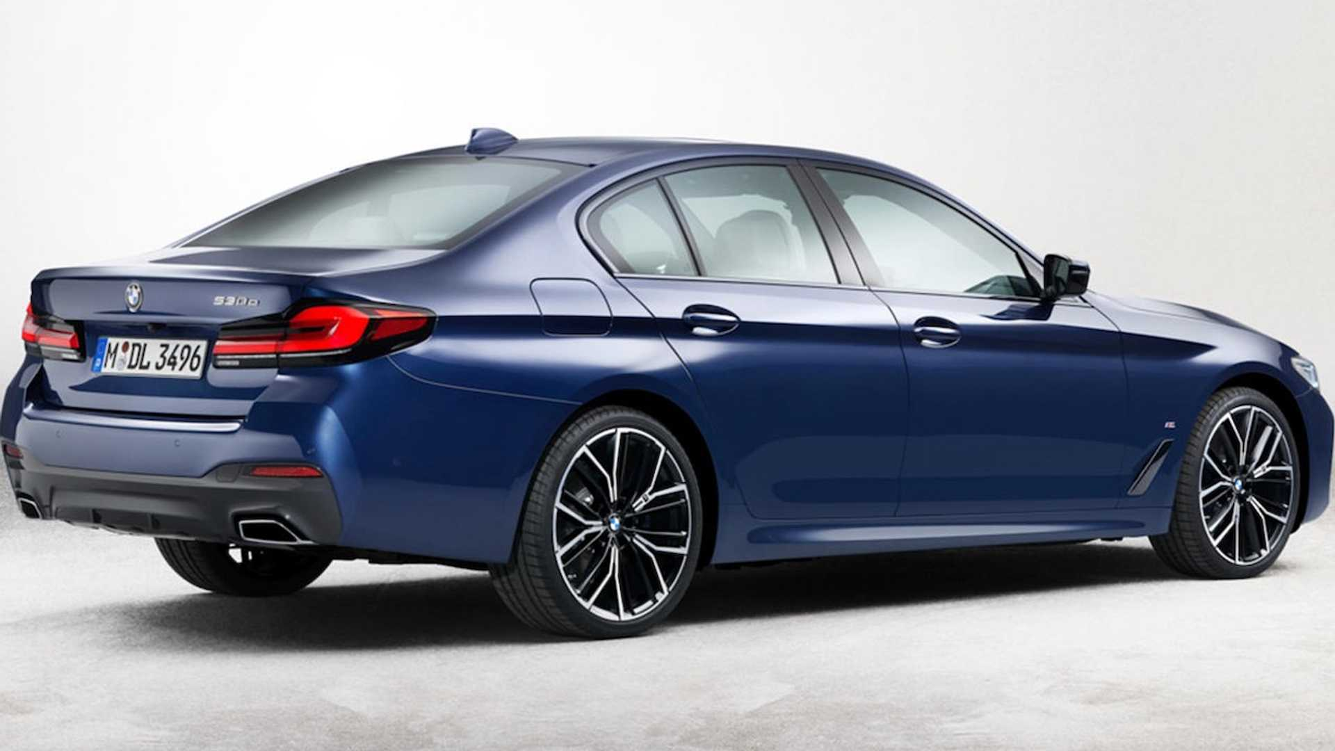 Novo BMW Série 5 híbrido das fotos vazadas tem o pacote esportivo M