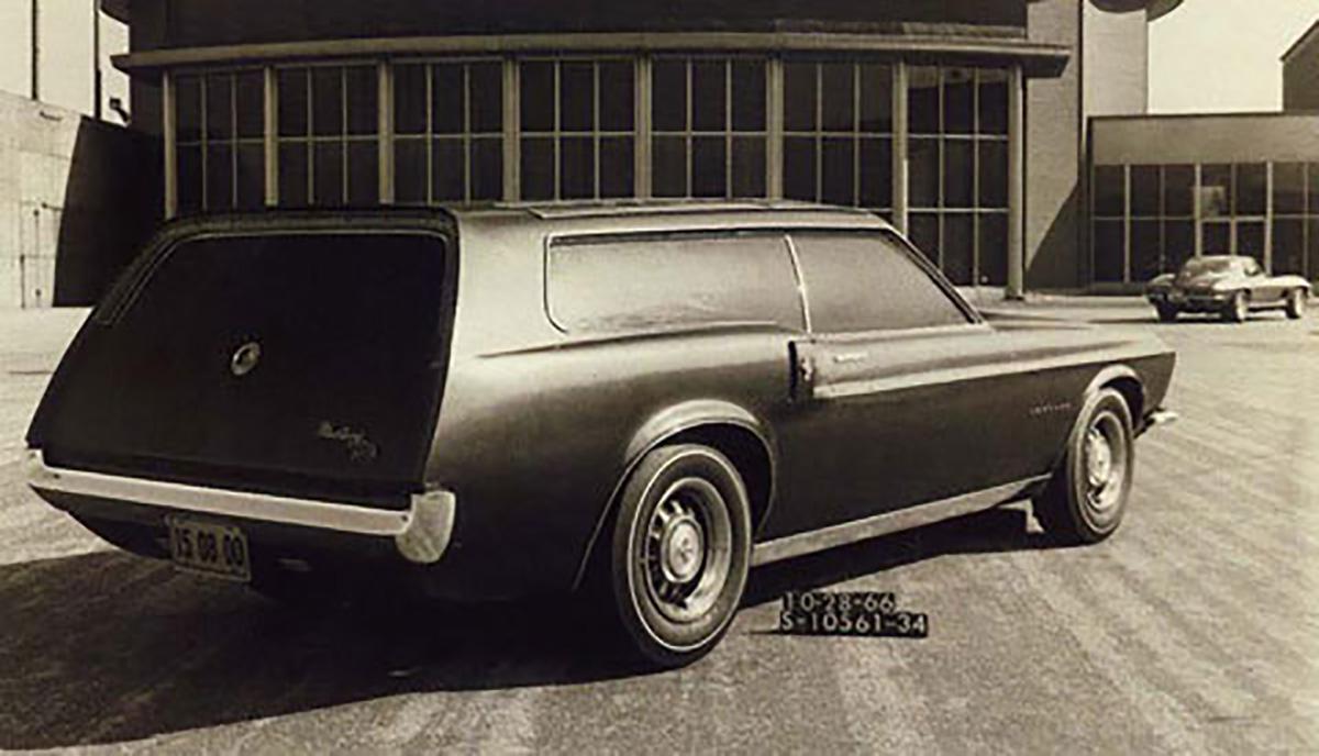 Ford Mustang Stationwagon Prototipo 02