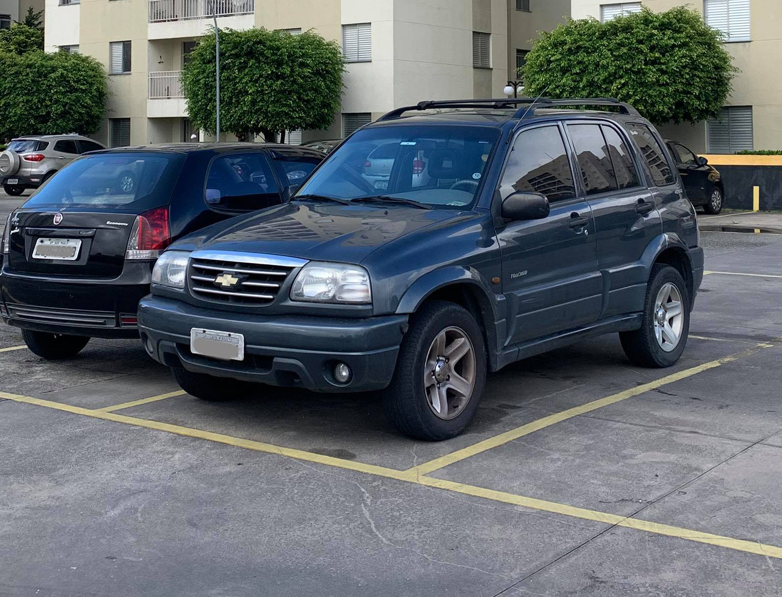 Primeiro Chevrolet Tracker nada mais era que uma versão GM do Suzuki Vitara