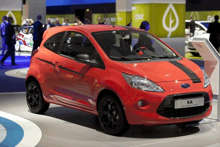 Ford Ka de segunda geração europeu usava a arquitetura do Fiat Cinquecento