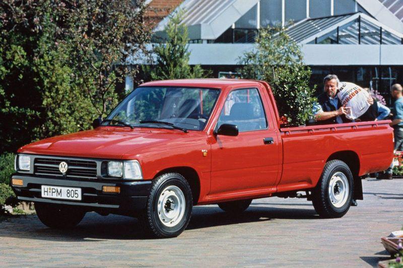 Volkswagen Taro era uma picape da marca alemã baseada na Toyota Hilux