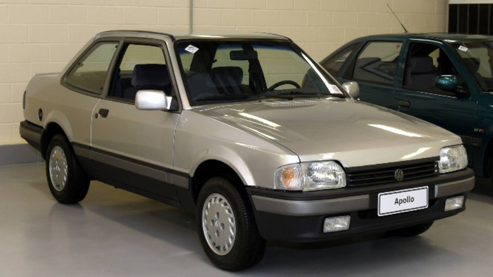 Apollo foi fruto de uma plataforma Autolatina que serviu a diferentes modelos Volkswagen e Ford