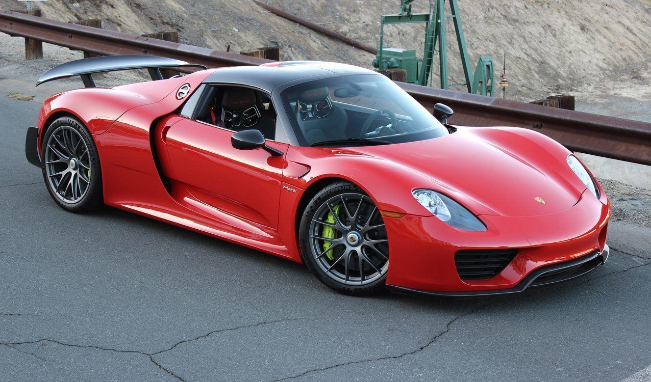 Porsche 918 Vermelho