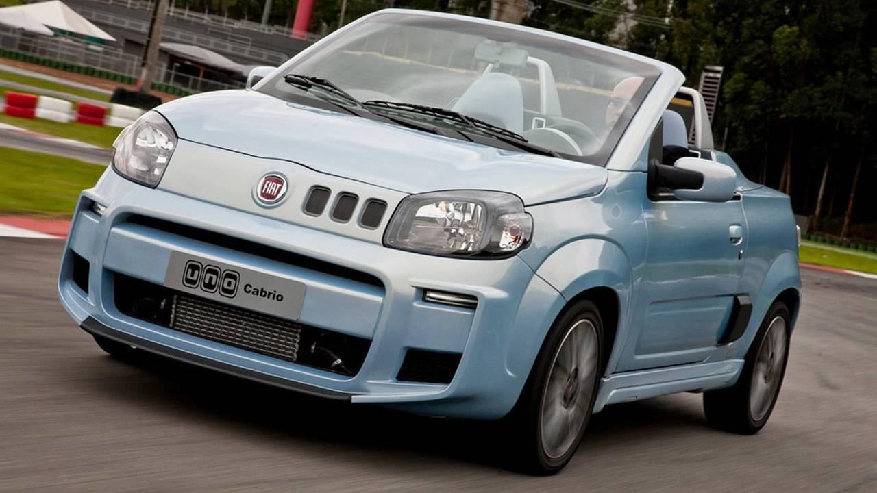 Fiat Uno Cabrio recebeu motor 1.4 turbo e virou conversível