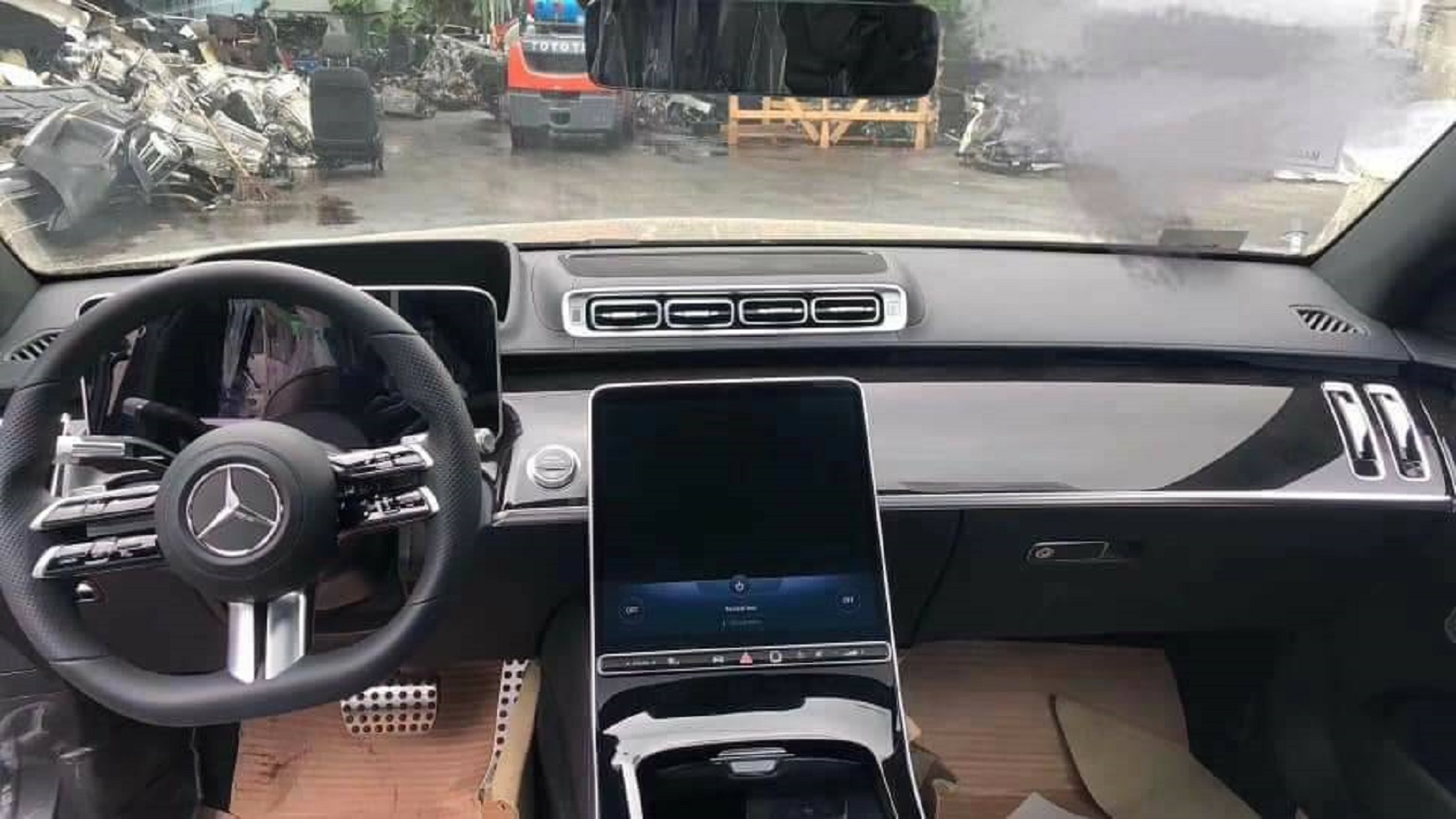 Flagras Do Mercedes Benz Classe S 2