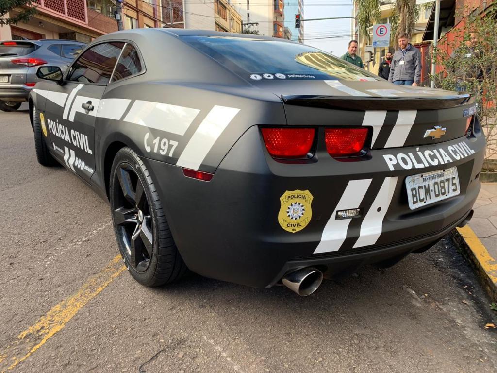 Camaro Polícia Civil Rs Passo Fundo B