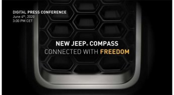 Teaser do novo Jeep Compass
