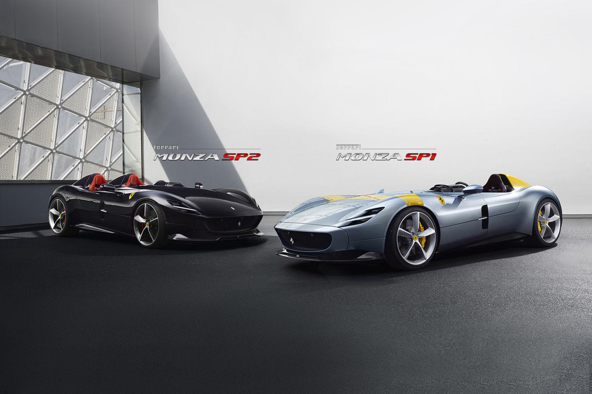 Ferrari SP1 e SP2 foram modelos especiais feitos com base na 812 Superfast e voltados para colecionadores