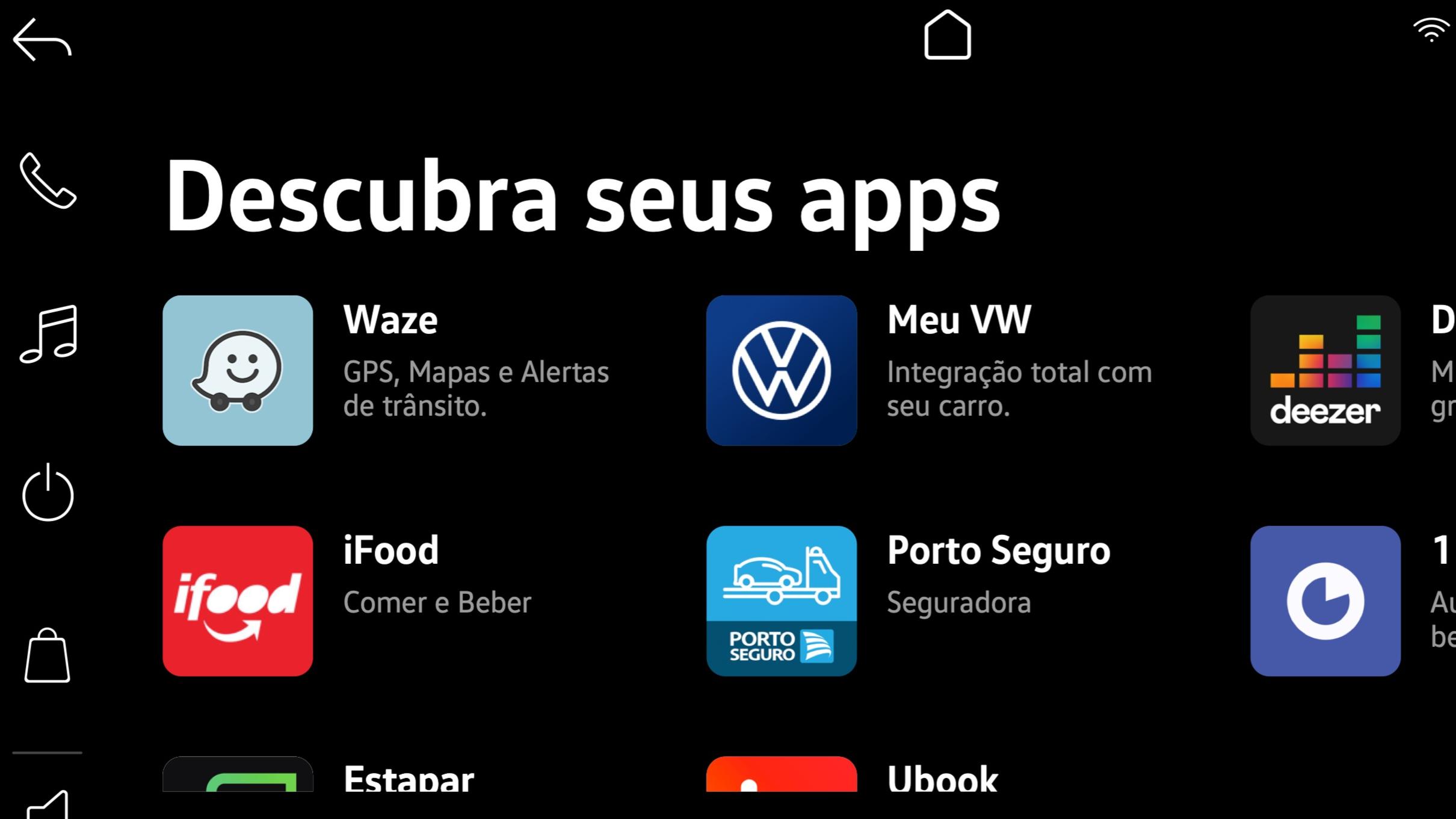 Vw Play Novva Central Multimídia Com Loja De Apps Que Estreia No Nivus 7