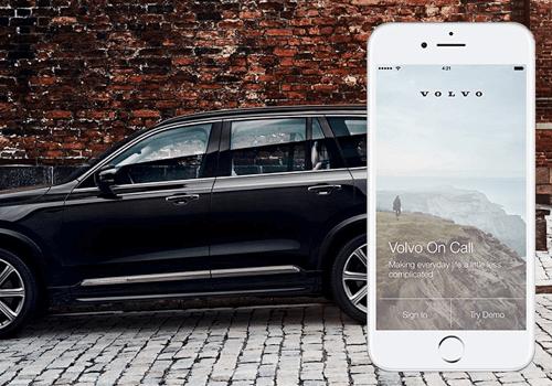 Sistema da Volvo tem compatibilidade com smartphone e mostra as informações direto no celular