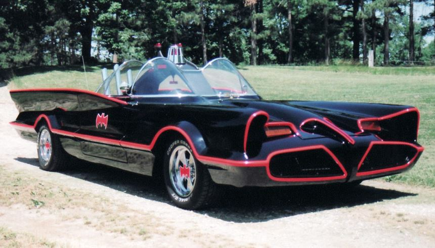 Batmóvel - Lincoln Futura 1955