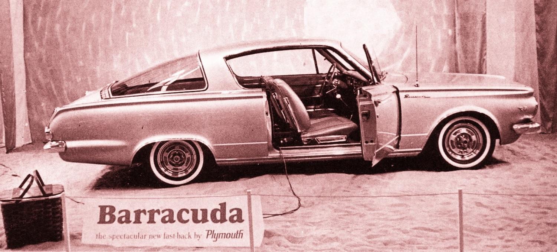 Barracuda foi mostrado duas semanas antes do Mustang, mas vendas só começaram meses depois