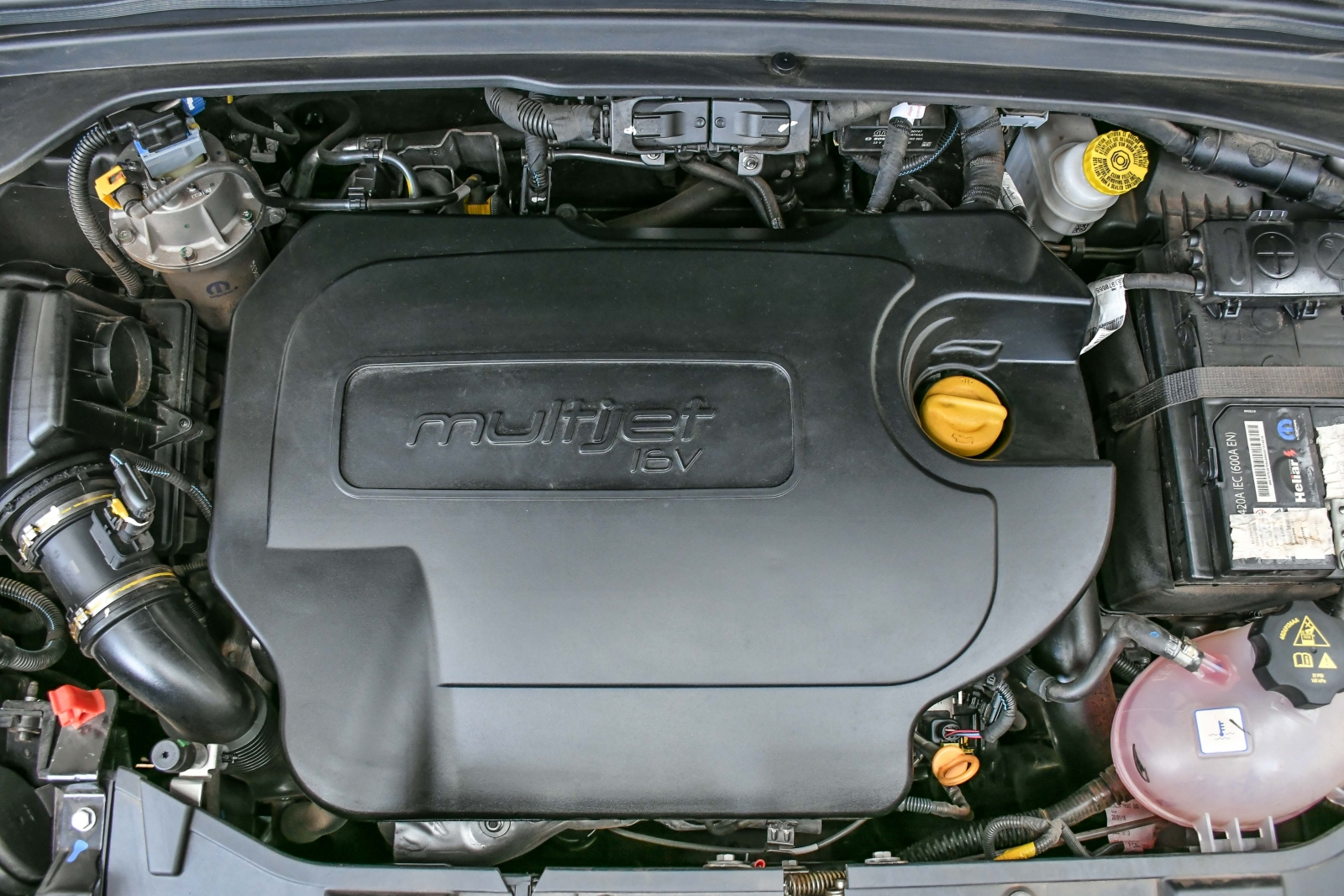 Motor 2.0 turbodiesel dá conta do recado