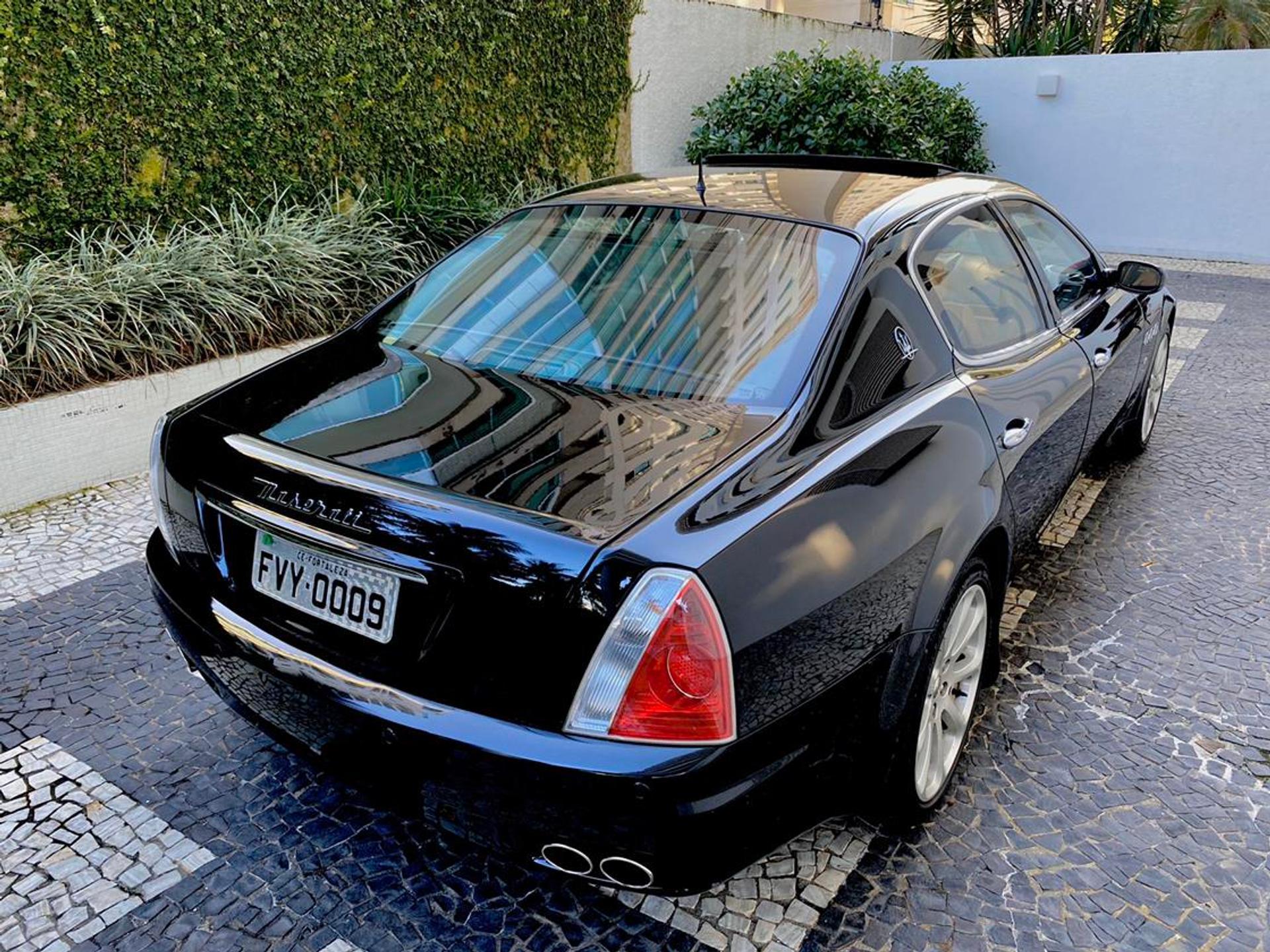Maserati Quattroporte 4.2 Executive V8 32v Gasolina 4p Automatico Wmimagem22402020466