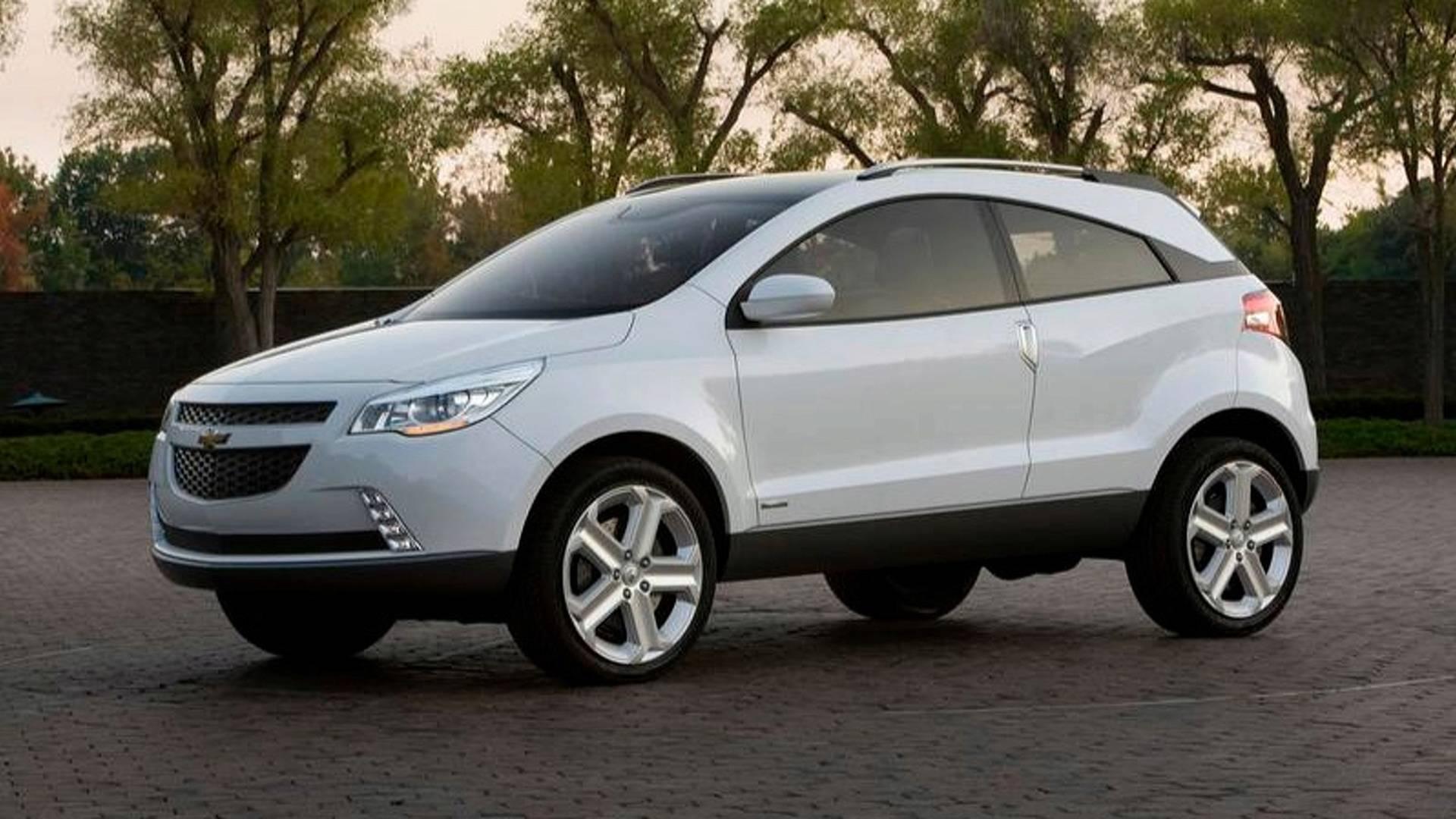 Chevrolet Gpix Concept deu origem ao Agile, mas originalmente era para ser um SUV para concorrer com o EcoSport