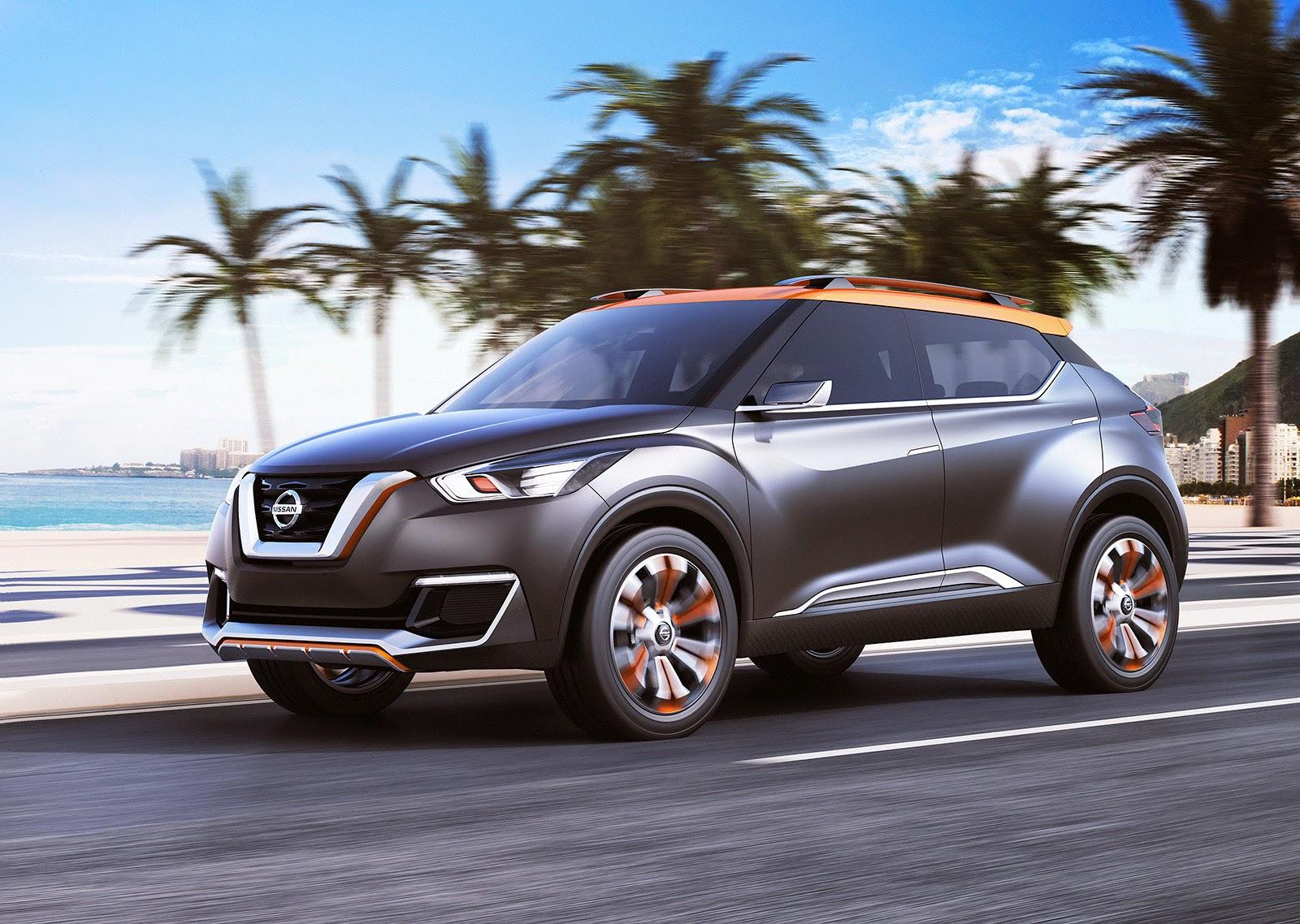 Nissan Kicks sofreu poucas alterações entre o carro-conceito e o modelo de produção