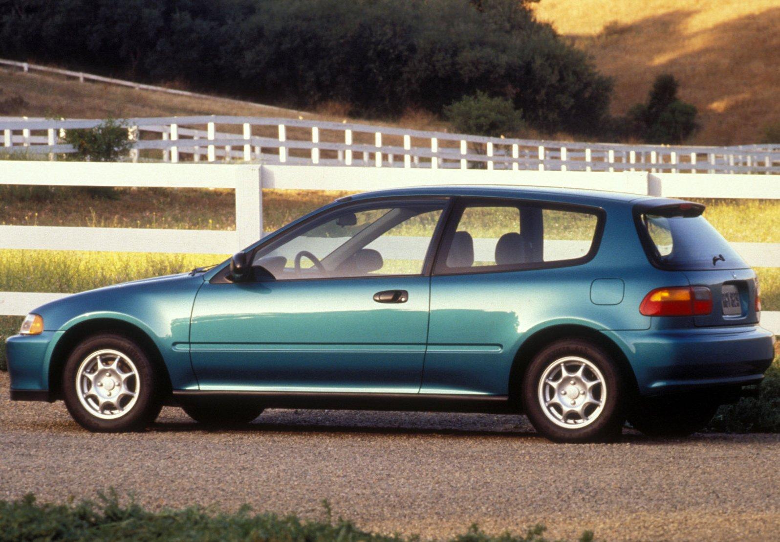 Honda Civic Hatchback 1992 1600 04