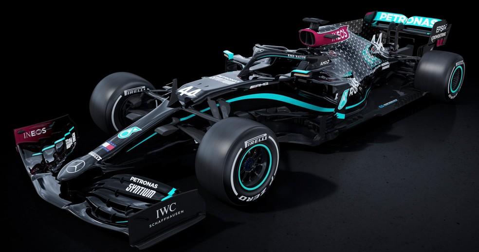 Carro da Mercedes para a temporada 2020 de F1 será preto em apoio aos protestos antirracistas