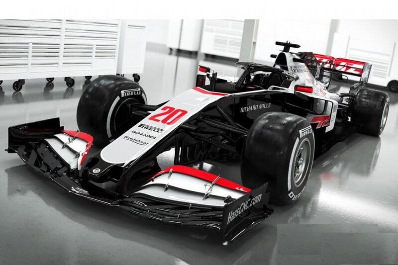 Carro da Haas para a temporada 2020 da F1