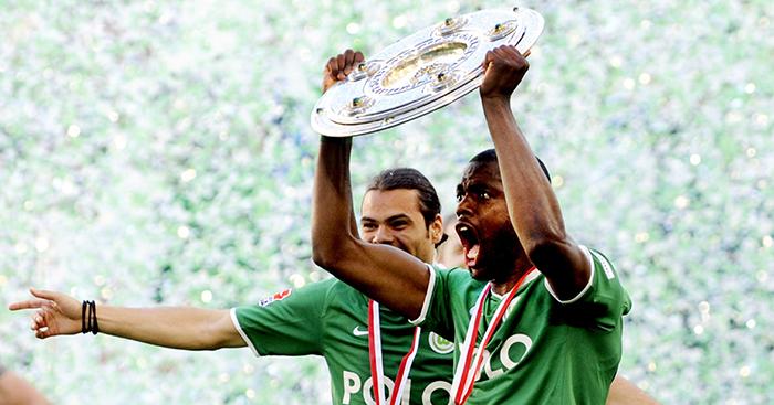 Soccer German Bundesliga Championship Wolfsburg Vs Bremen