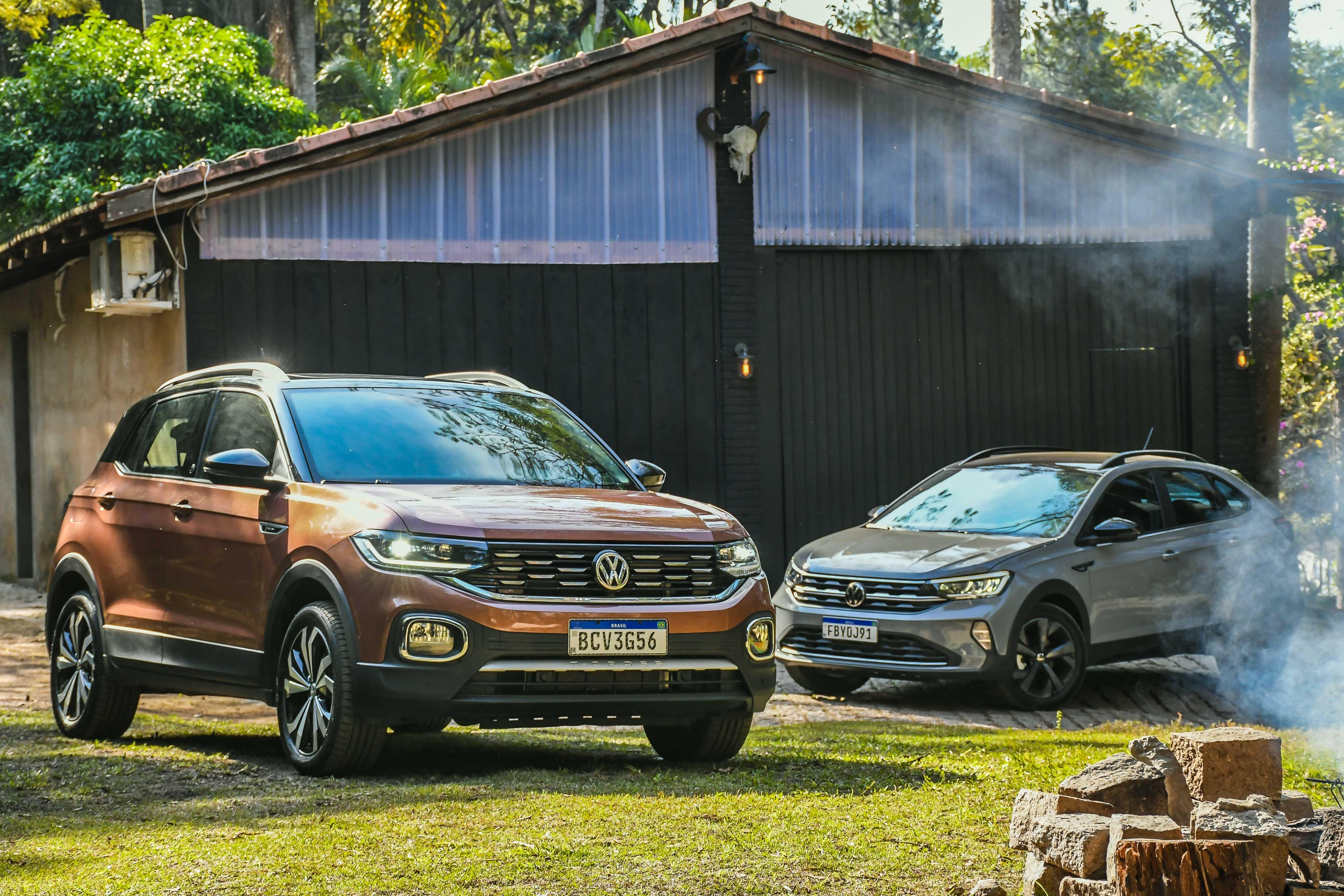 T-Cross tem perfil mais familiar que o Nivus, na visão da Volkswagen