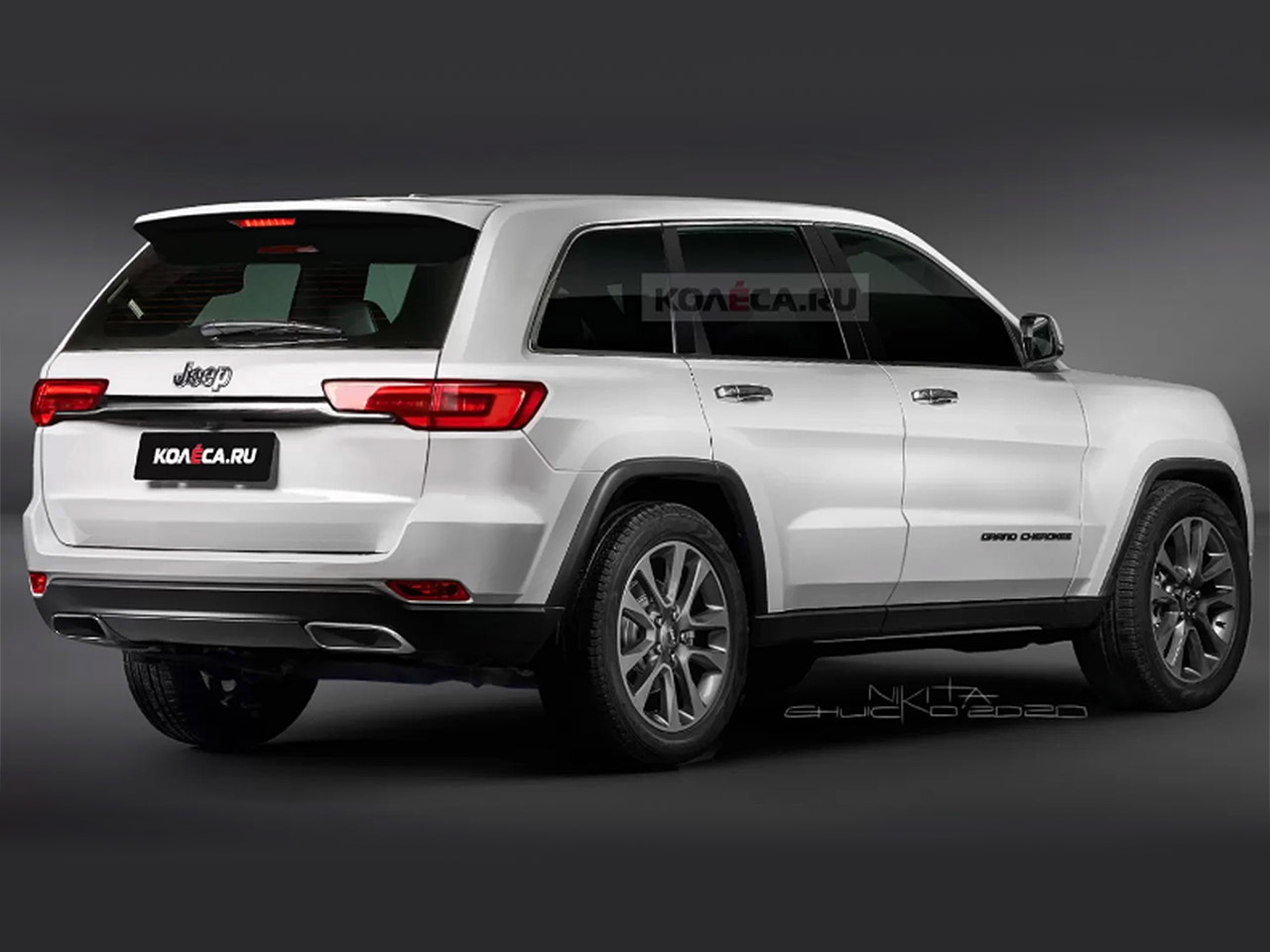 Jeep Grand Cherokee 2021 Projeção Kolesa Rússia 1