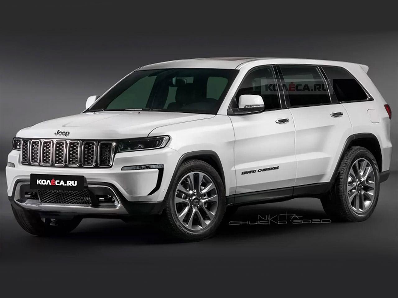 Jeep Grand Cherokee 2021 Projeção Kolesa Rússia 2
