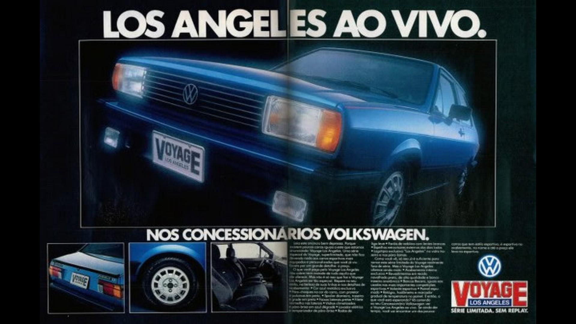 Carros que homenagearam as Olímpiadas: Volkswagen Voyage Los Angeles, em 1984