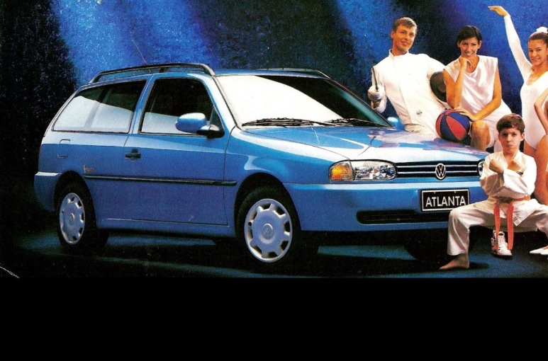 Volkswagen Parati Atlanta 1996 foi uma das escolhas da marca alemã para comemorar o evento