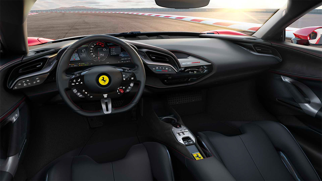 Volante do Ferrari SF90 Stradale