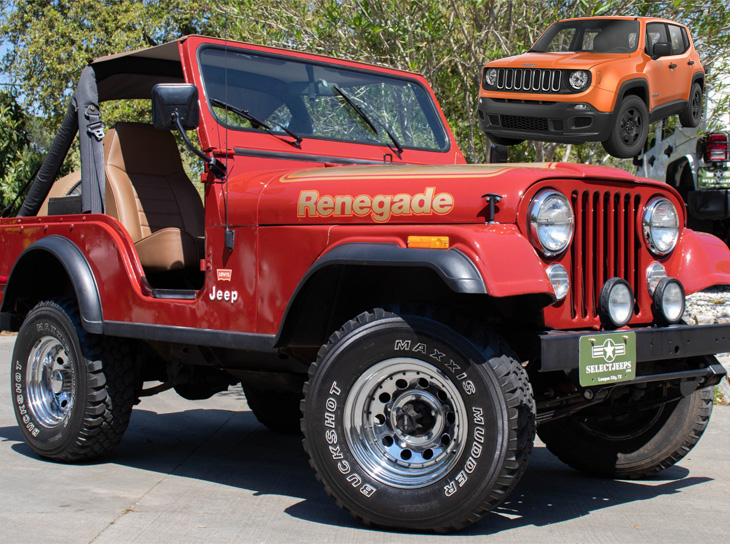 Jeep Cj 5 Jeep Renegade