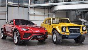 Lamborghini Urus e o LM002