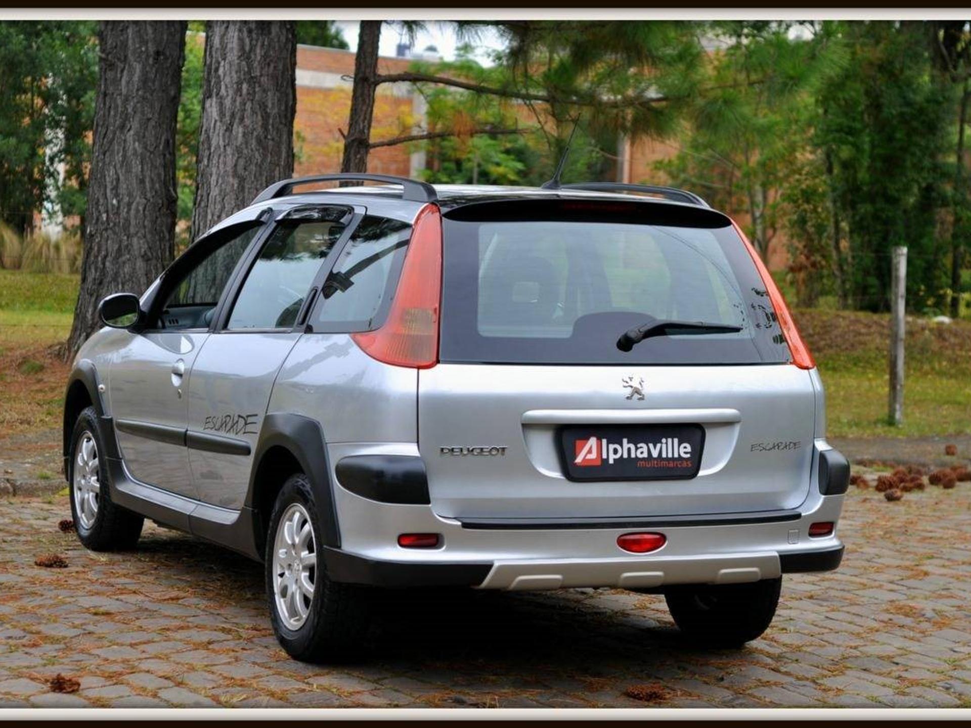 Peugeot 206 1.6 Escapade Sw 16v Flex 4p Manual Wmimagem10314162864