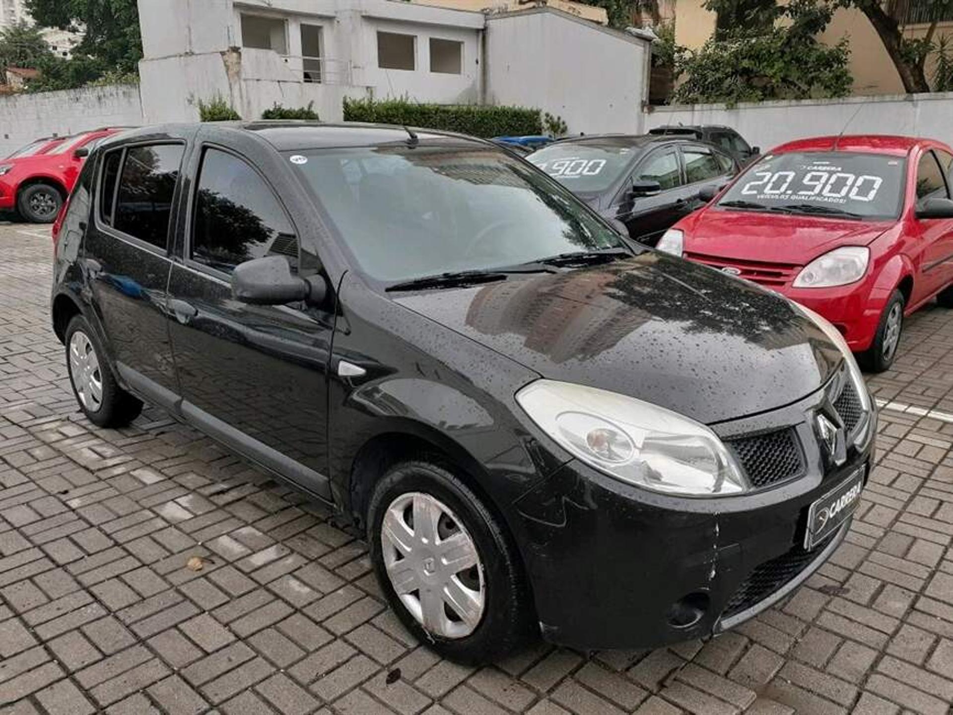 Renault Sandero 1.6 Expression 8v Flex 4p Manual Wmimagem15022979281